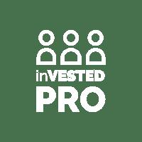 inVESTED Pro Logo WHITE