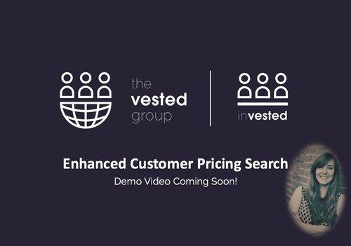 Enhanced Customer Pricing Search